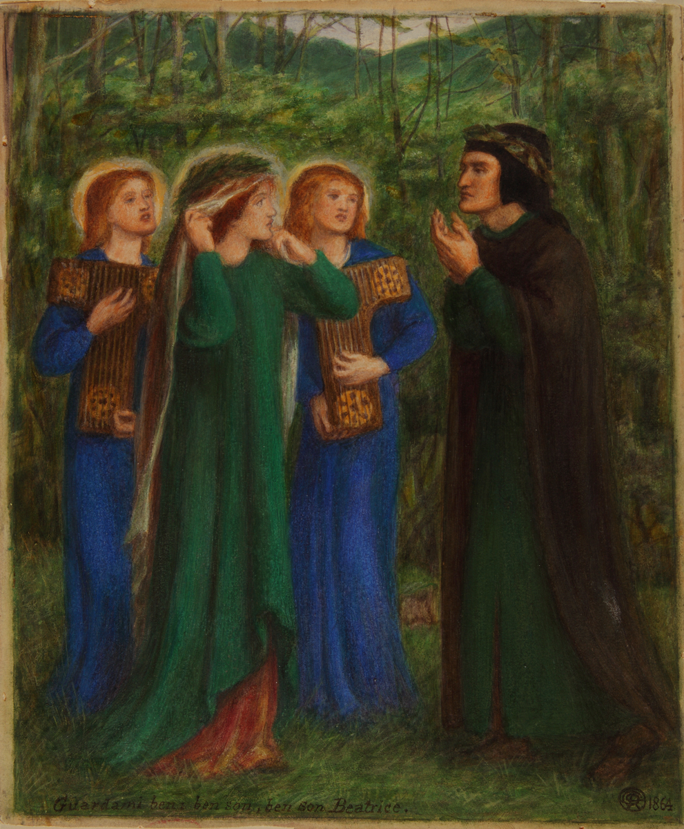 Dante Meeting Beatrice