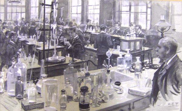 The Chemical Laboratory, Grammar School