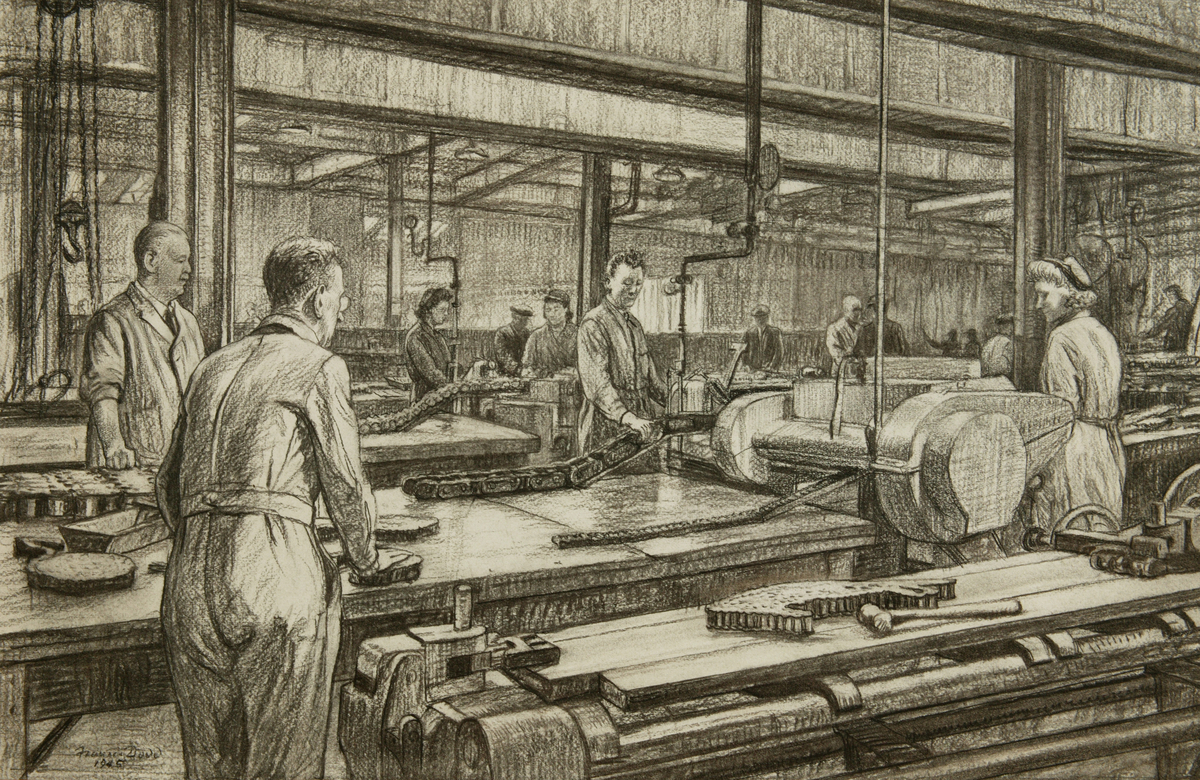 Renold Works, Manchester 1939-1945,