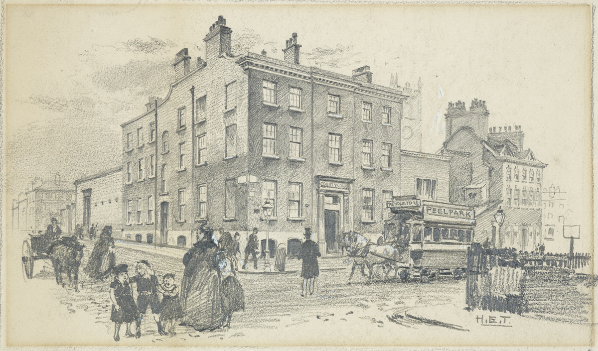 County Court, Old Owen's College, Quay Street