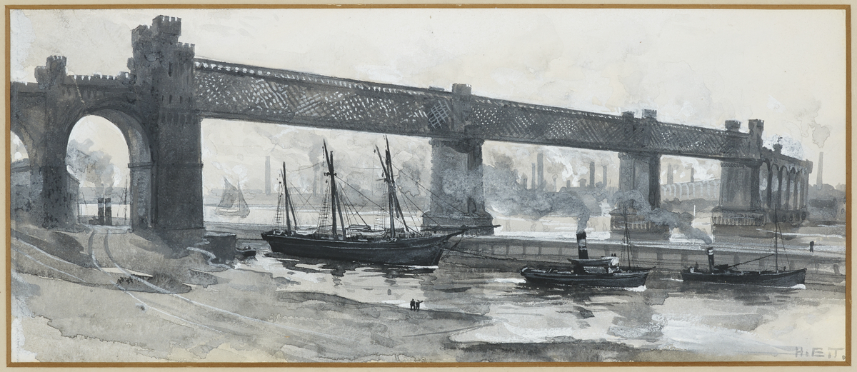 Ship Canal, Runcorn Bridge
