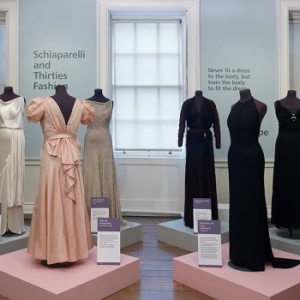 Schiaparelli and Thirties Fashion installation view