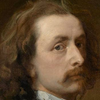 Van Dyck, self Portrait, detail