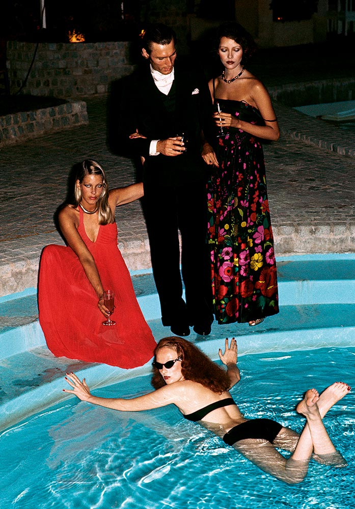 Limelight Nights by Helmut Newton, 1973