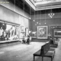 Interior of Manchester Art Gallery, courtesy Manchester Archives