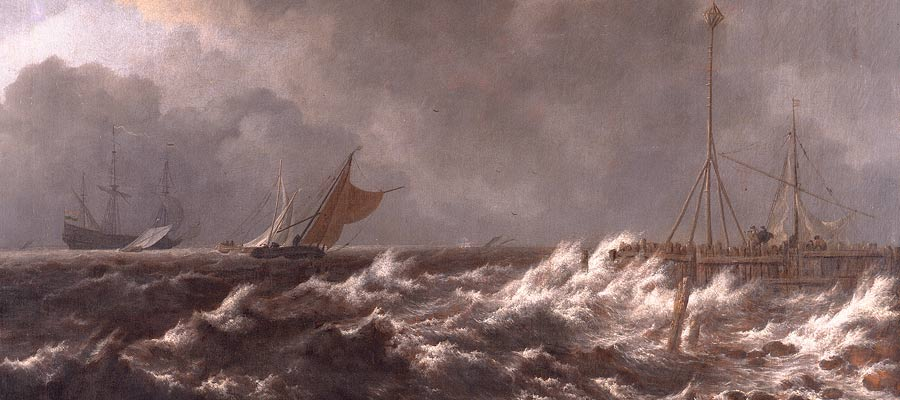 Jacob Van Ruisdael, Storm off the Dutch Coast