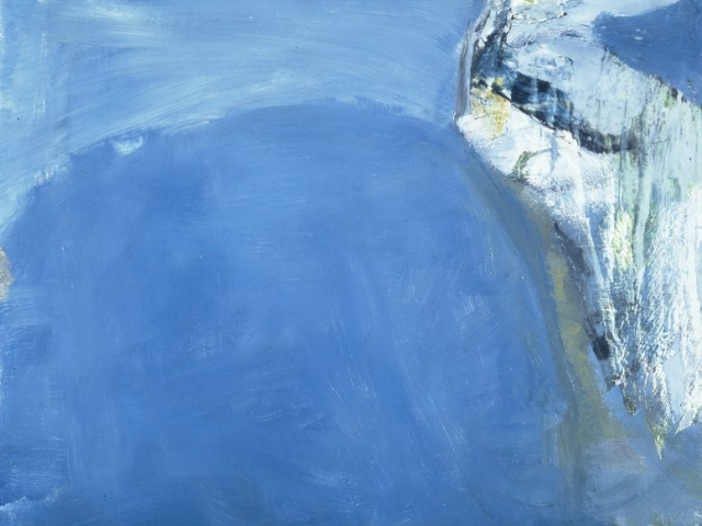 Silent Coast by Peter Lanyon (1957)