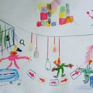 Childs drawing of 2 year old reviews