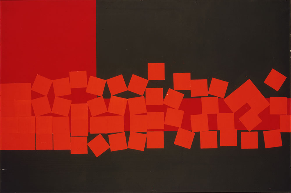 Wilhelmina Barns-Graham 1966 Image: © Aberdeen City Council (Art Gallery & Museums Collections) / The Barns-Graham Charitable Trust