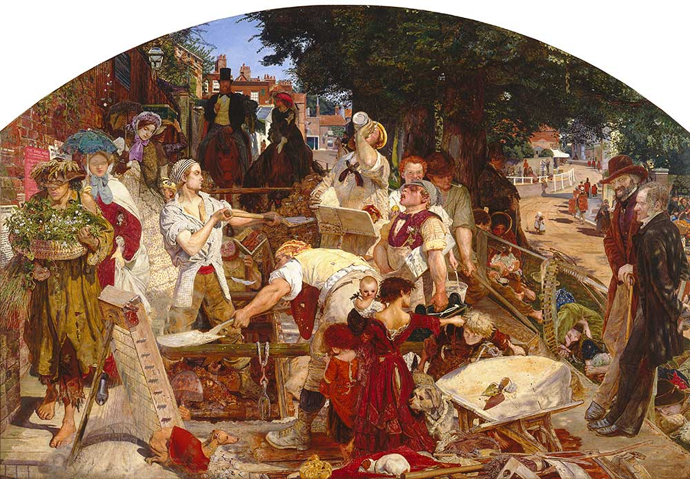 Work, Ford Madox Brown