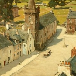 Charles Oppenheimer The Old Tolbooth, Kirkcudbright 1931