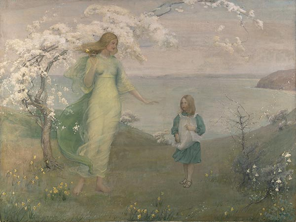 Thomas Millie Dow, A Vision of Spring, 1902