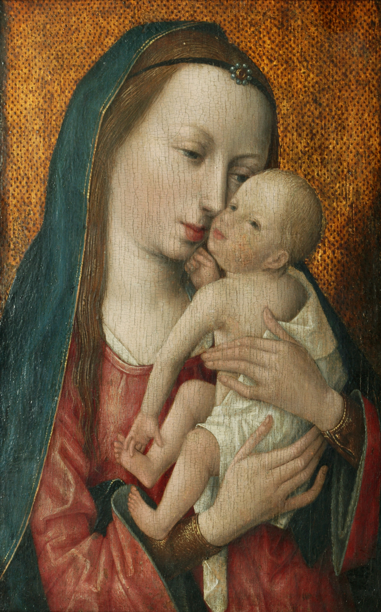 The Master of the Magdalen, Legend Virgin and Child,1483–1490